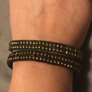 Jewelry - Bracelet Set (dark green and black)